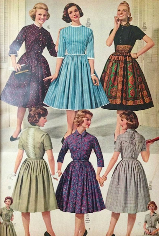 early 1950s fashion - photo #18
